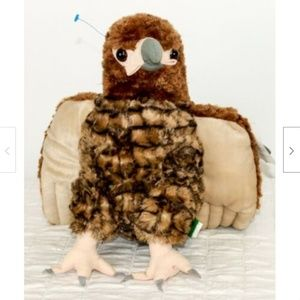 "Wild Republic Bird Plush Red Tail Hawk 12"" Tall St"